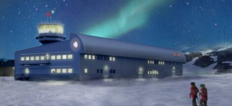 Antarctic science hub page