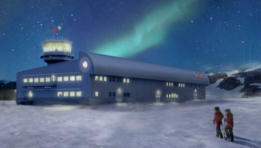 Antarctic science hub page