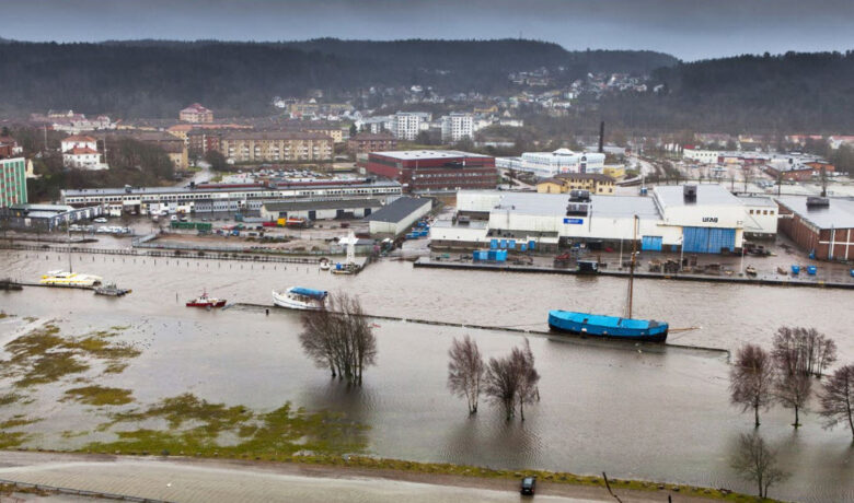 Uddevalla flood control page